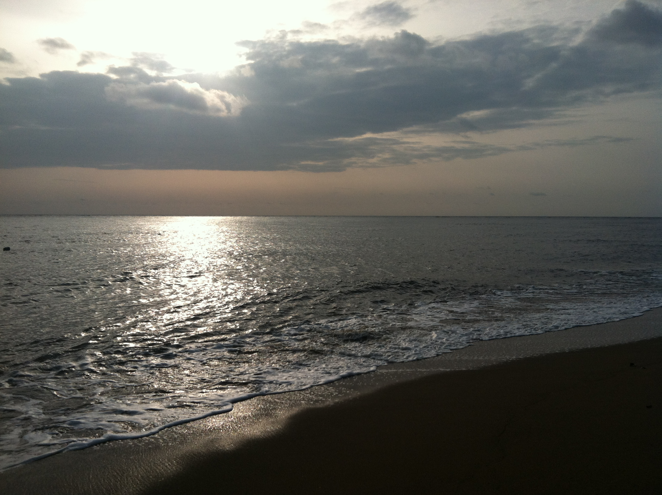 View of the Atlantic Ocean from Cameroon.
