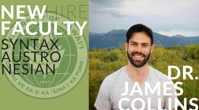 New Faculty: Dr. James N. Collins