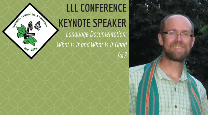 Dr. Gary Holton will be Keynote Speaker at LLL Conference